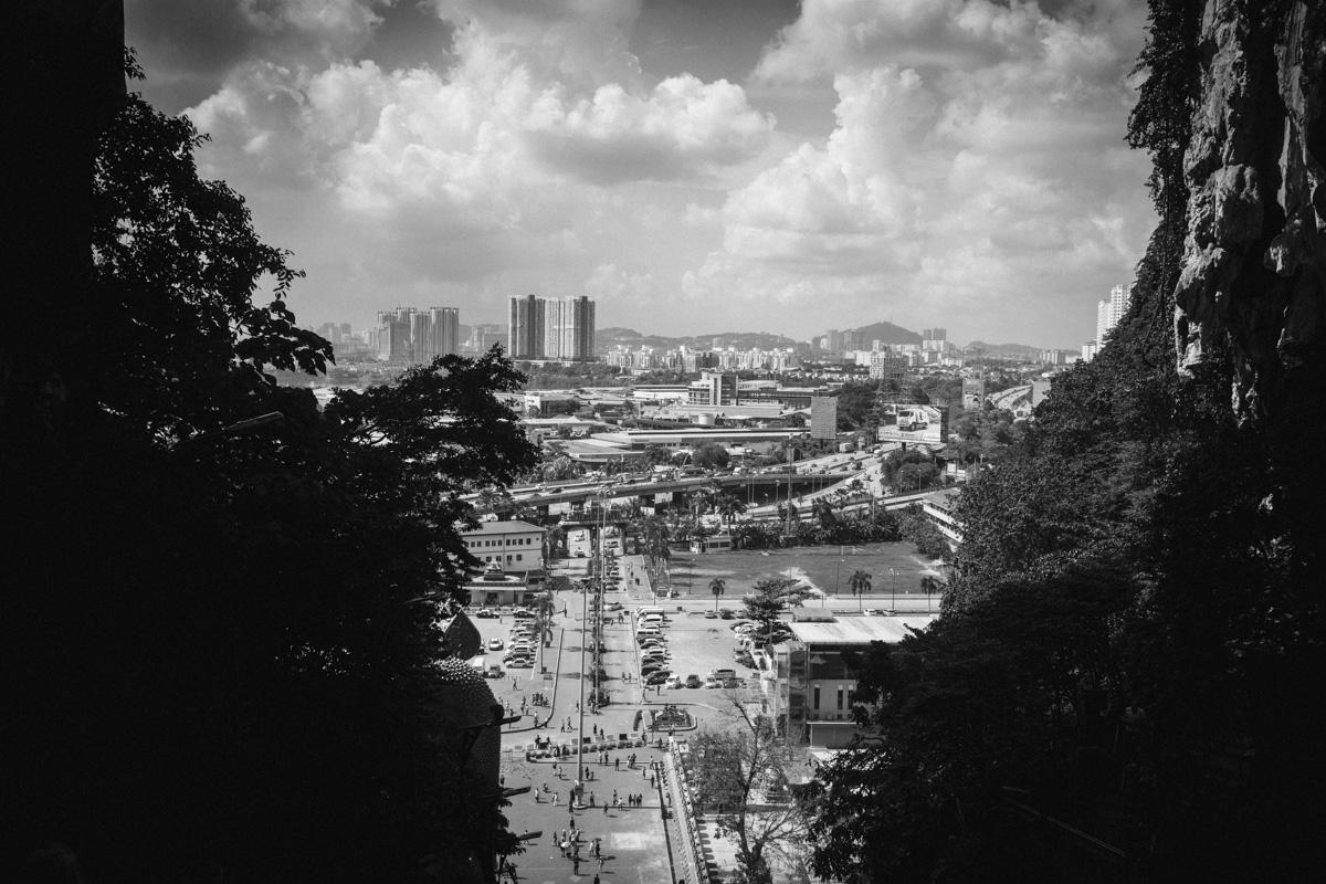 バトゥ洞窟からの眺め|Leica M10 + Summilux 35mm f1.4
