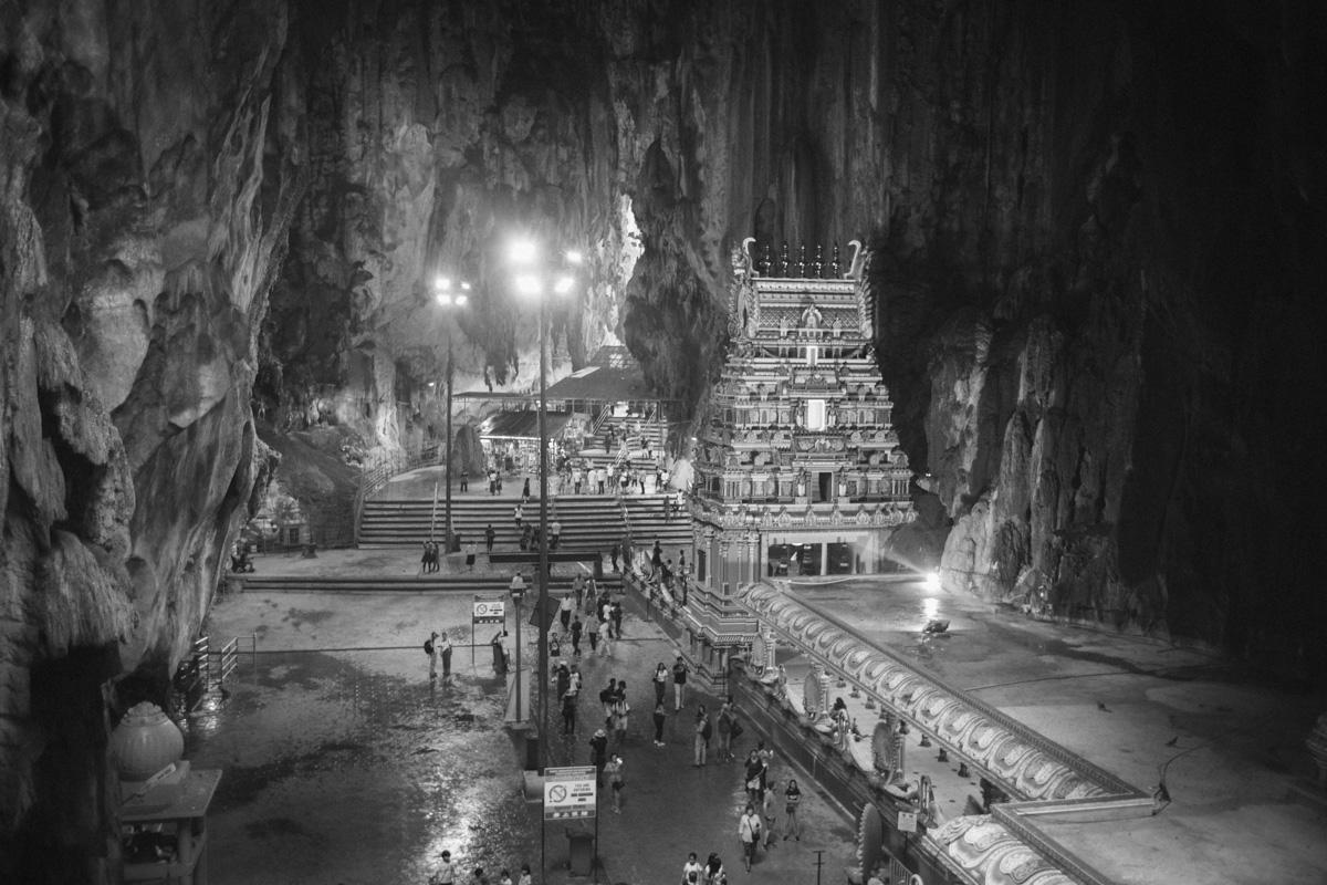バトゥ洞窟の全景|Leica M10 + Summilux 35mm f1.4