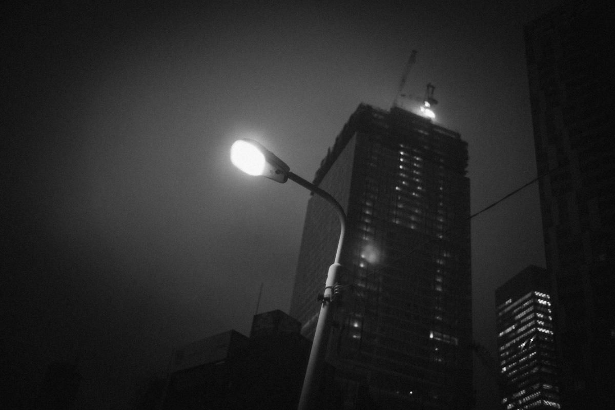 桜丘町の街路灯|Leica M10 + Summilux 35mm f1.4