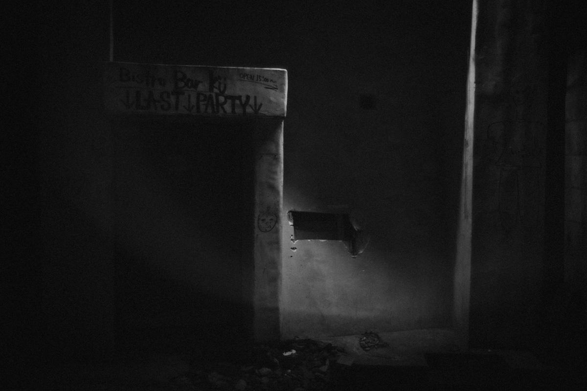 若者で賑わった料理店も閉店|Leica M10 + Summilux 35mm f1.4