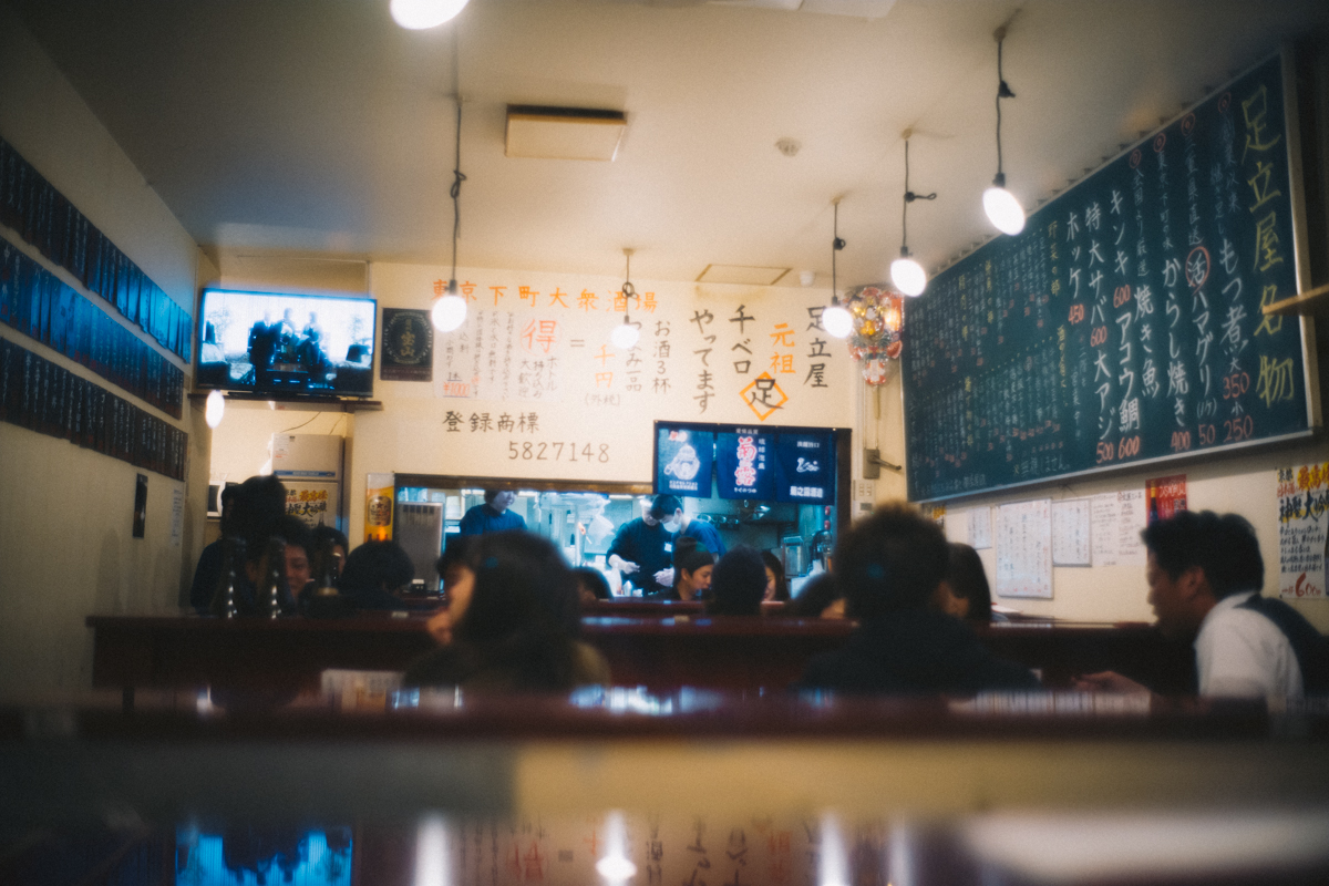 東京下町な居酒屋だった|Leica M10 + Summilux 35mm f1.4
