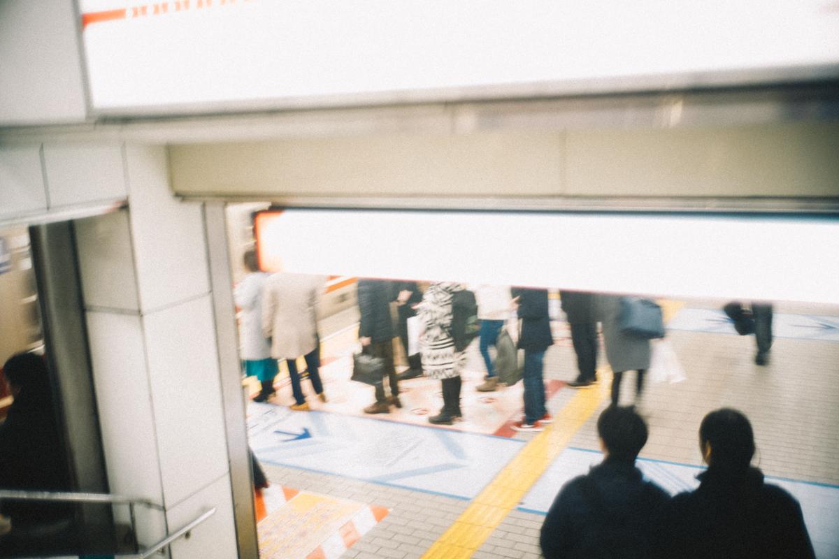 地下鉄で動物園前駅へ|Leica M10 + Summilux 35mm f1.4
