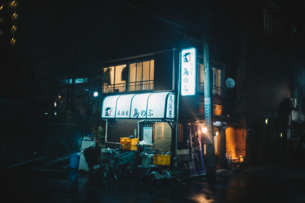 目的地は居酒屋鳥のぶ|Leica M10 + Summilux 35mm f1.4