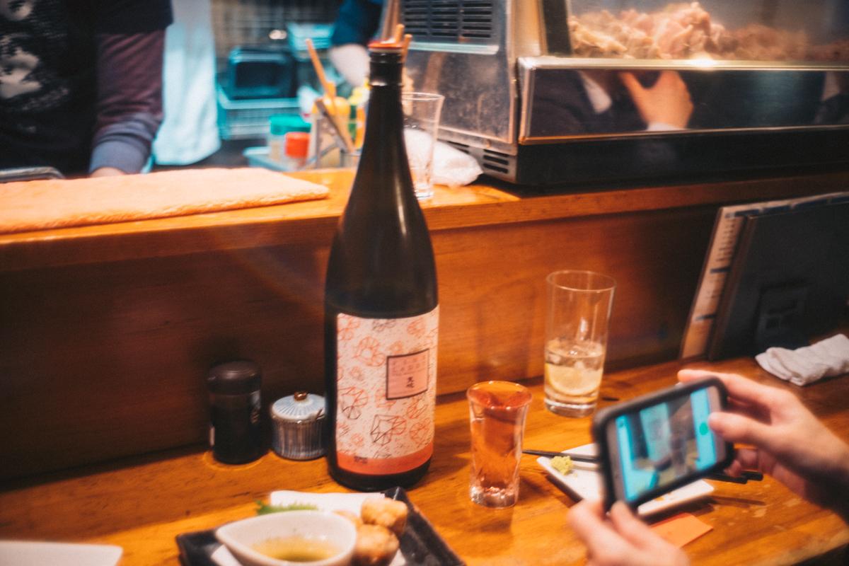 お酒も料理も、とにかくメニューが豊富|Leica M10 + Summilux 35mm f1.4