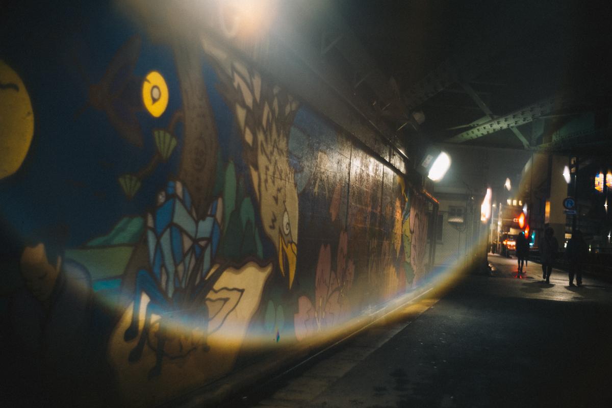 西日暮里の駅に向かう道すがら|Leica M10 + Summilux 35mm f1.4