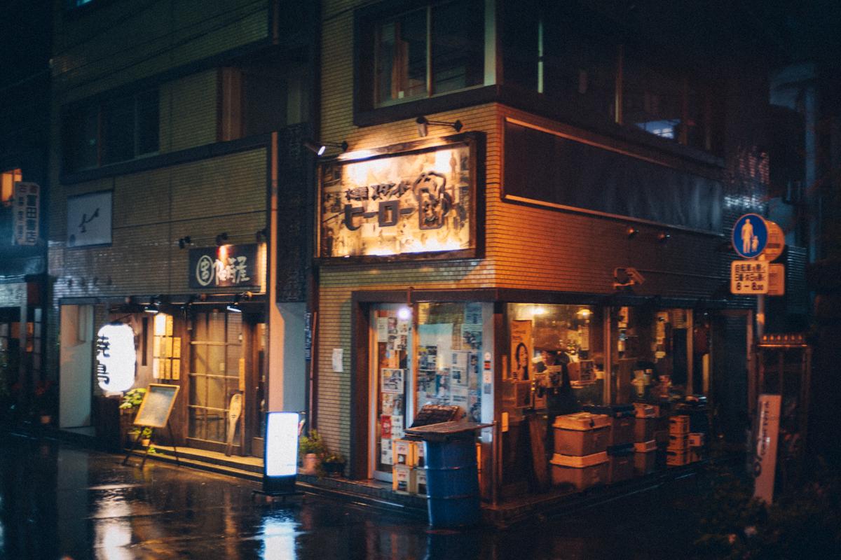 水道橋駅の名店スタンドヒーロー|Leica M10 + C Sonnar T 1.5/50 ZM