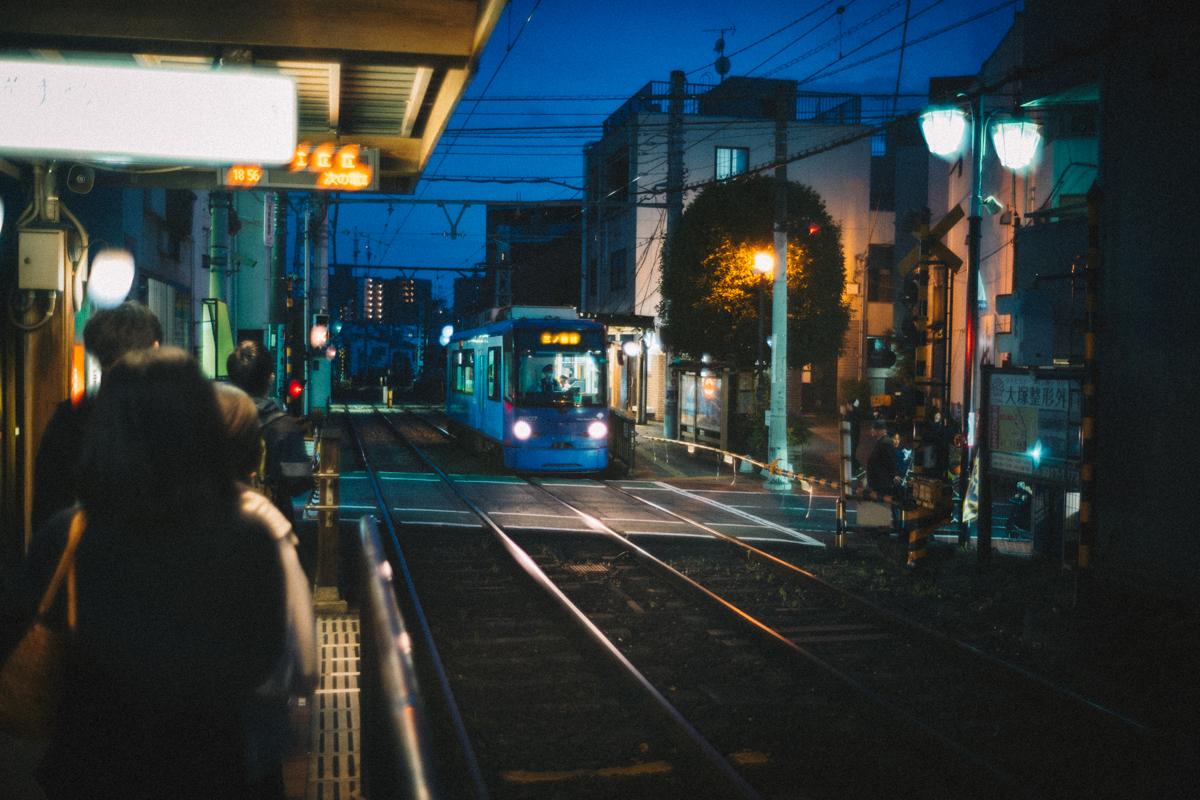 都電荒川線で家路へ|Leica M10 + Summilux 35mm f1.4