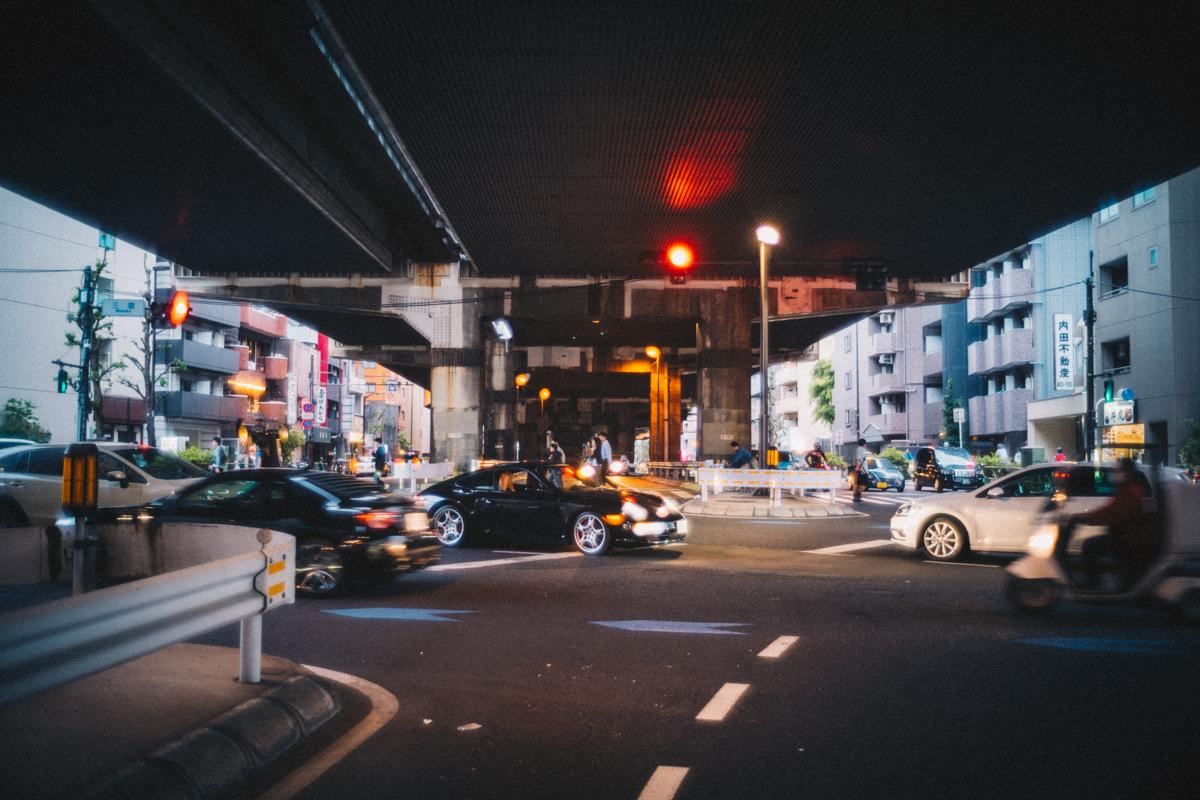池尻大橋に到着|Leica M10 + Summilux 35mm f1.4