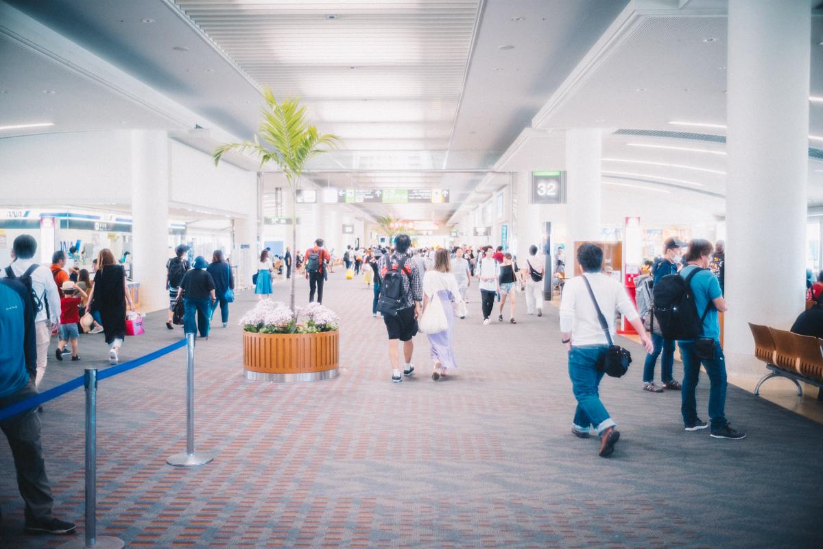 いつもの那覇空港|Leica M10 + Summilux 35mm f1.4