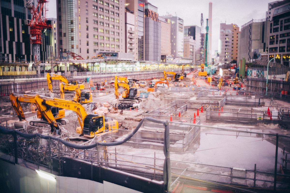 再開発が凄い渋谷