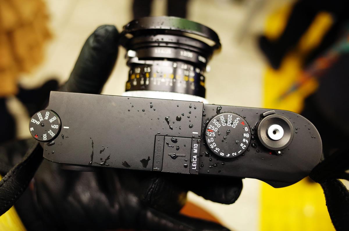 Leica M10は大雪でも元気に撮影できた