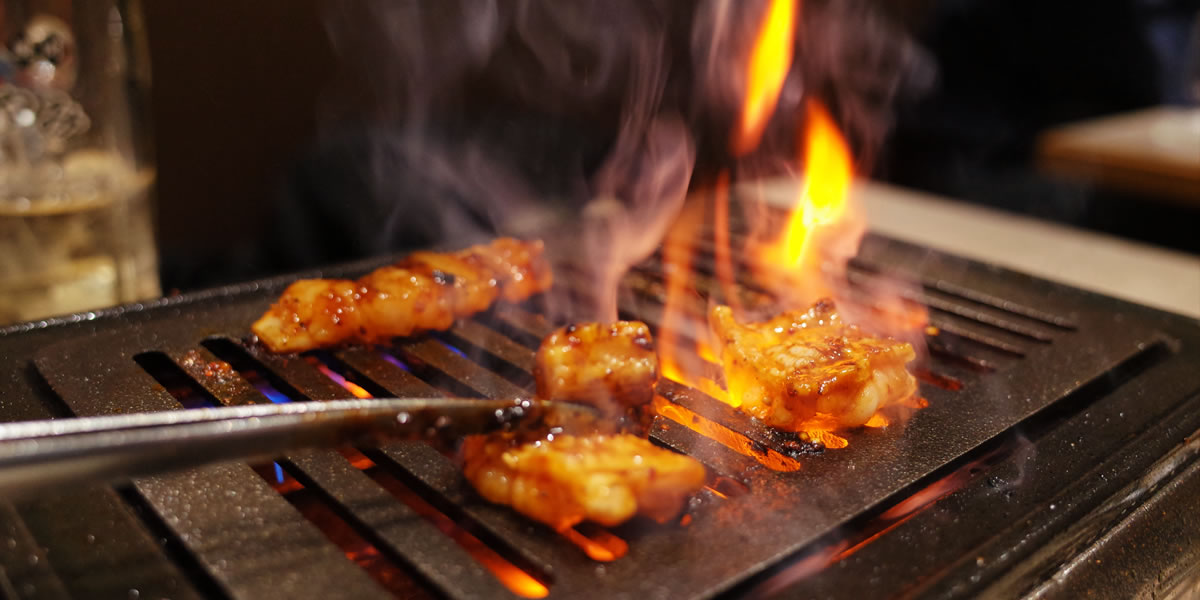 焼肉はやみで肉欲求を満たそう|GRII