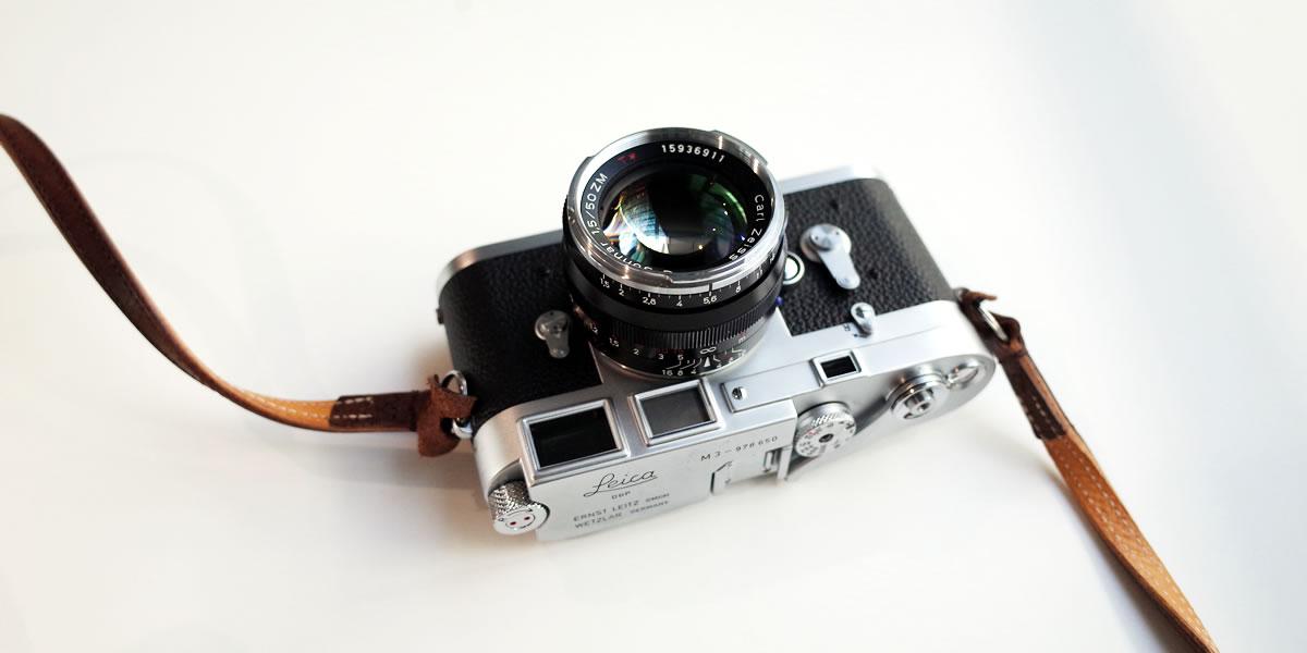 Leica M3の露出計はiPhoneアプリで解決