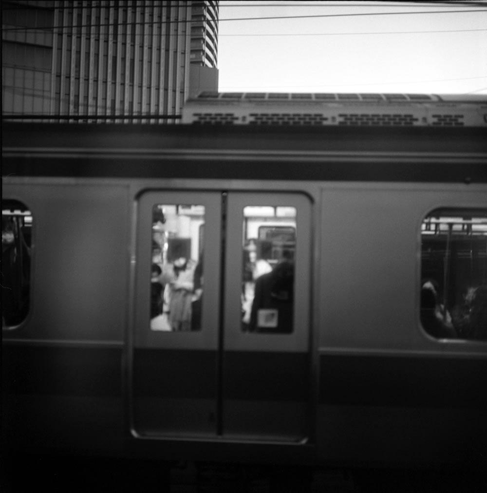 ローライフレックスで乗り鉄写真② ROLLEIFLEX 2.8F + ILFORD HP5 PLUS