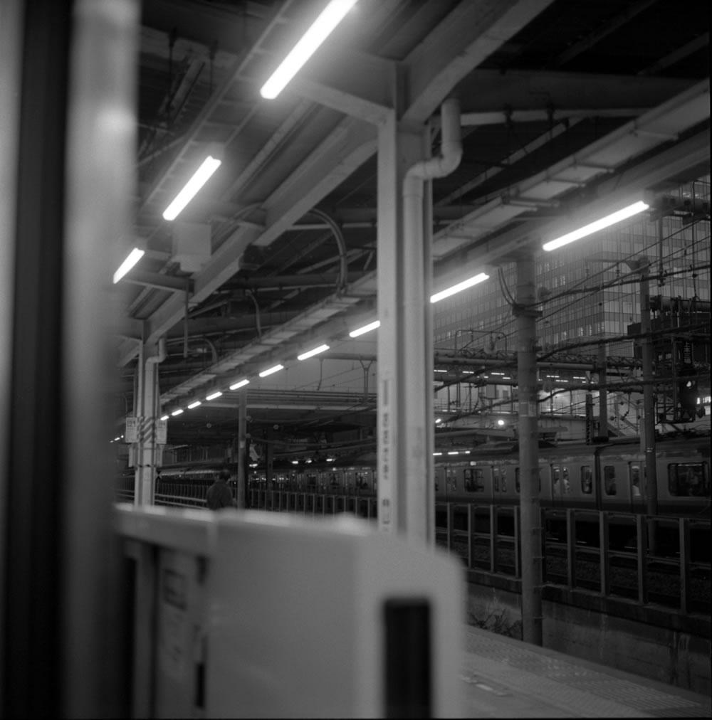 ローライフレックスで乗り鉄写真① ROLLEIFLEX 2.8F + ILFORD HP5 PLUS